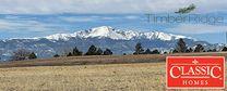 TimberRidge by Classic Homes in Colorado Springs Colorado