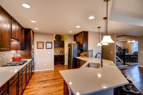 Kitchen-in-Monarch-at-Forest Lakes-in-Monument