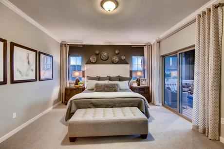 Bedroom-in-Somerset-at-Flying Horse-in-Colorado Springs
