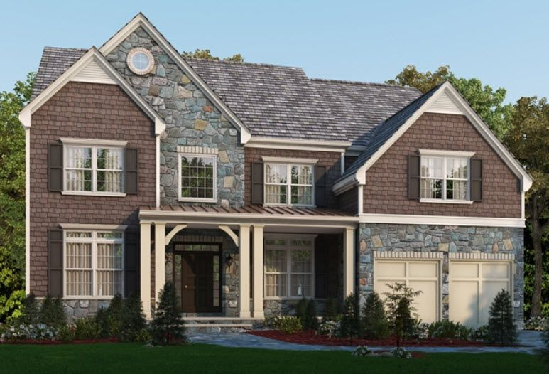 The Oxford   Classic Homes Of Maryland   Custom Build On Your Lot  (Annapolis)