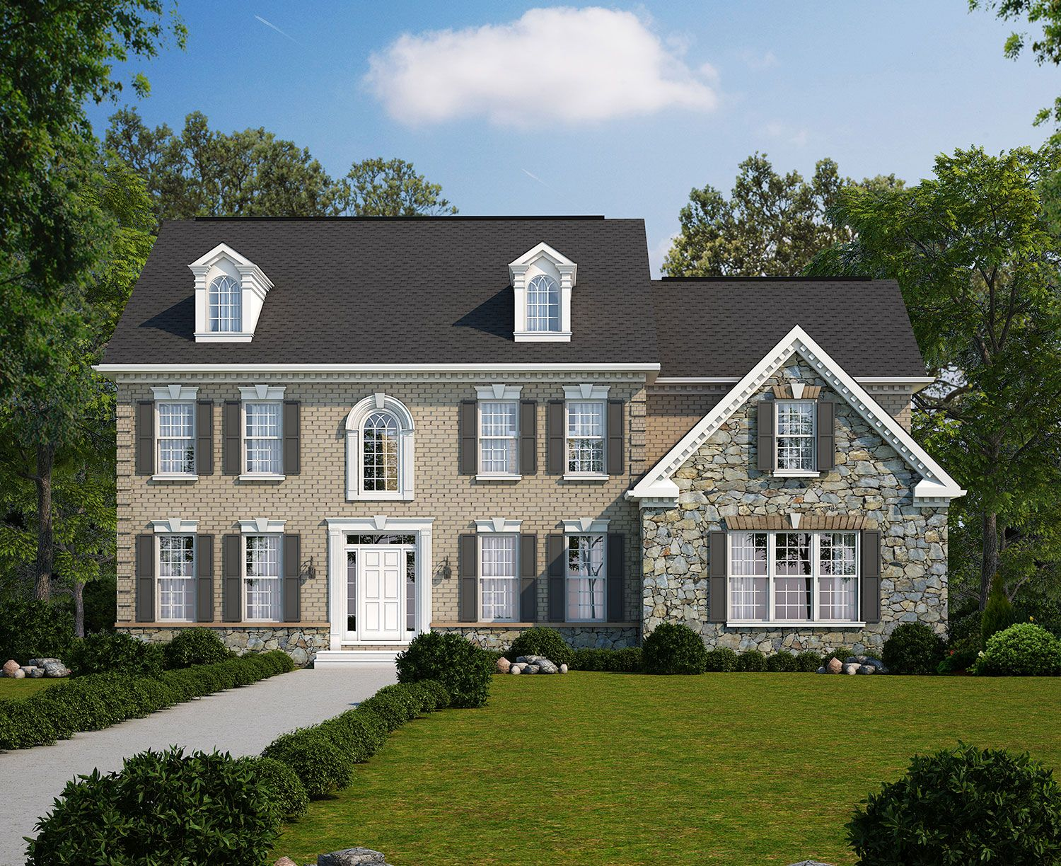 Rouen Ln   Classic Homes Of Maryland   Custom Build On Your Lot (Potomac)