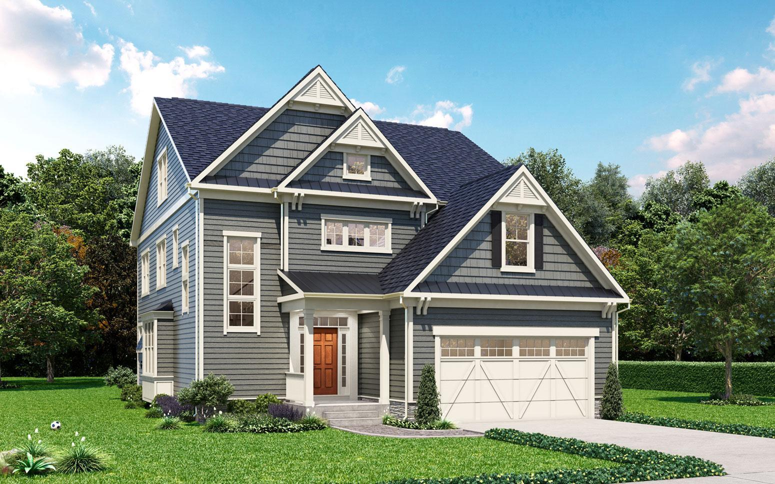 Exterior featured in The Darcy By Classic Homes of Maryland  in Washington, MD