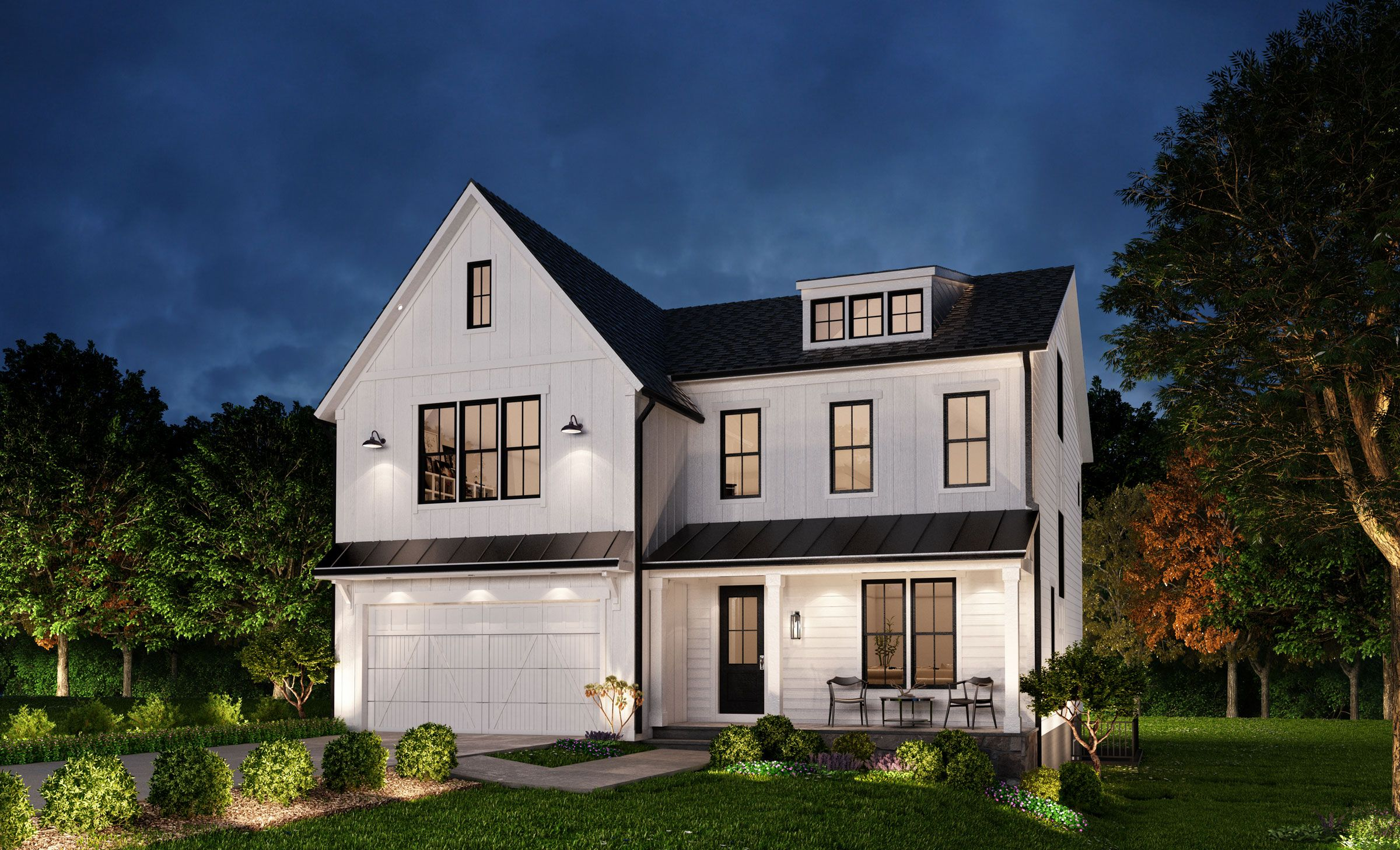 Exterior featured in The Willow By Classic Homes of Maryland  in Washington, MD