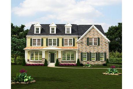 The Hampton II-Design-at-Classic Homes of Maryland - Custom Home Builder (Bethesda)-in-Bethesda