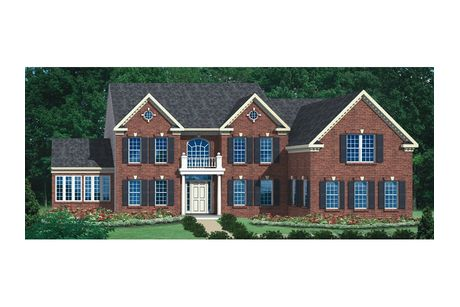 The Hampton II-Design-at-Classic Homes of Maryland - Custom Build on Your Lot (Potomac)-in-Potomac