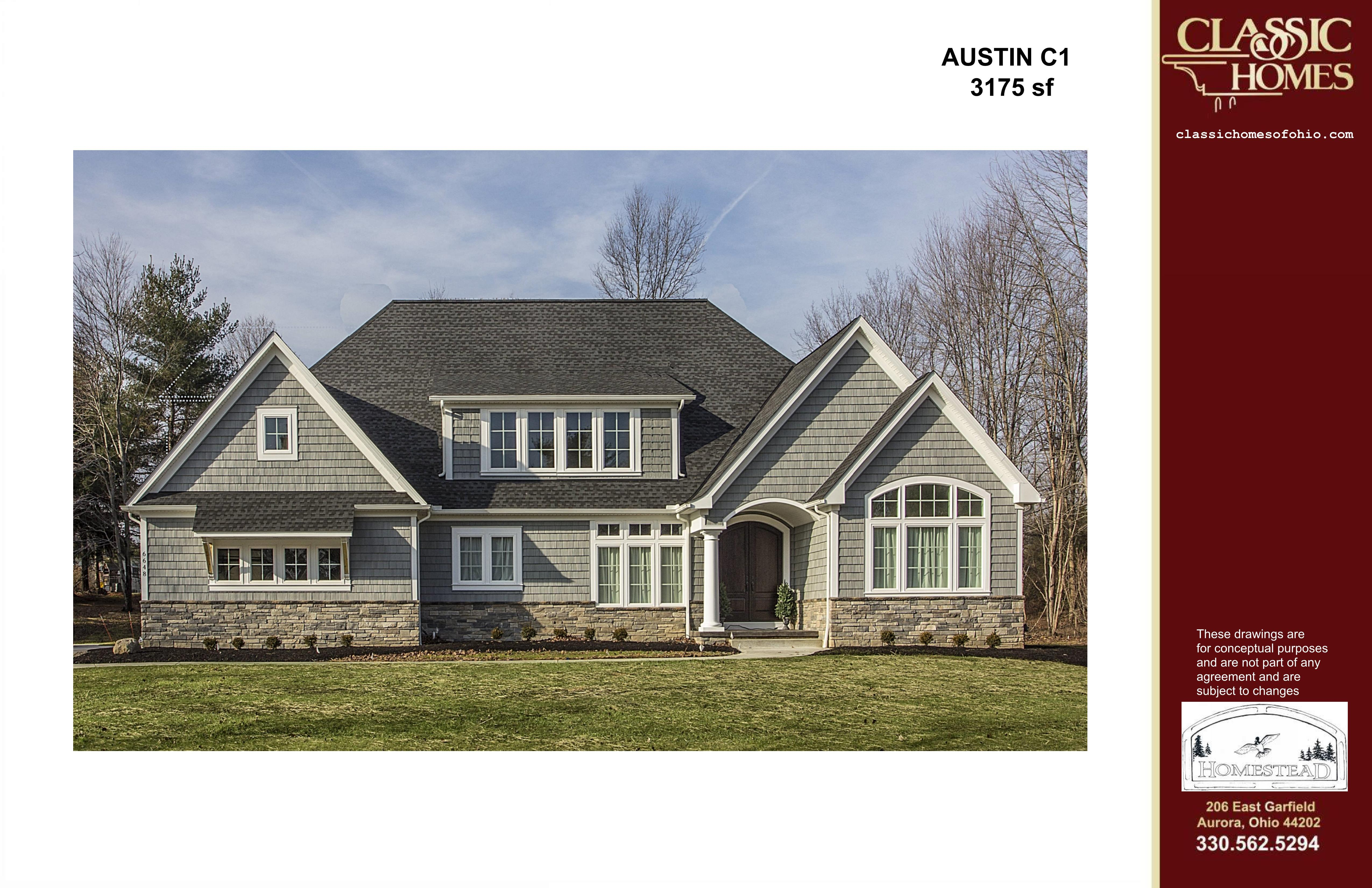 Exterior featured in the Austin C1 By Classic Homes in Akron, OH