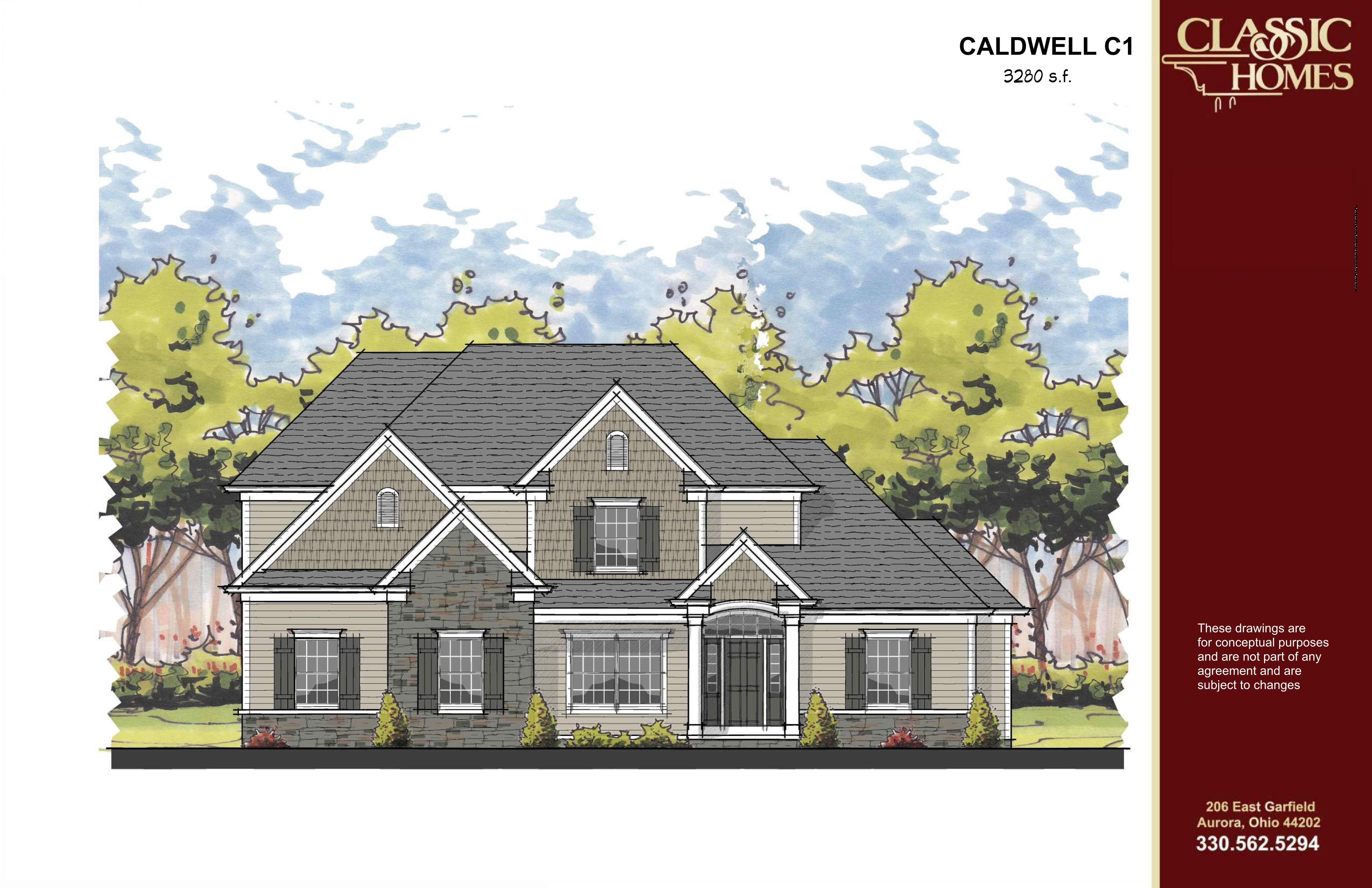 Exterior featured in the Caldwell C1 By Classic Homes in Akron, OH