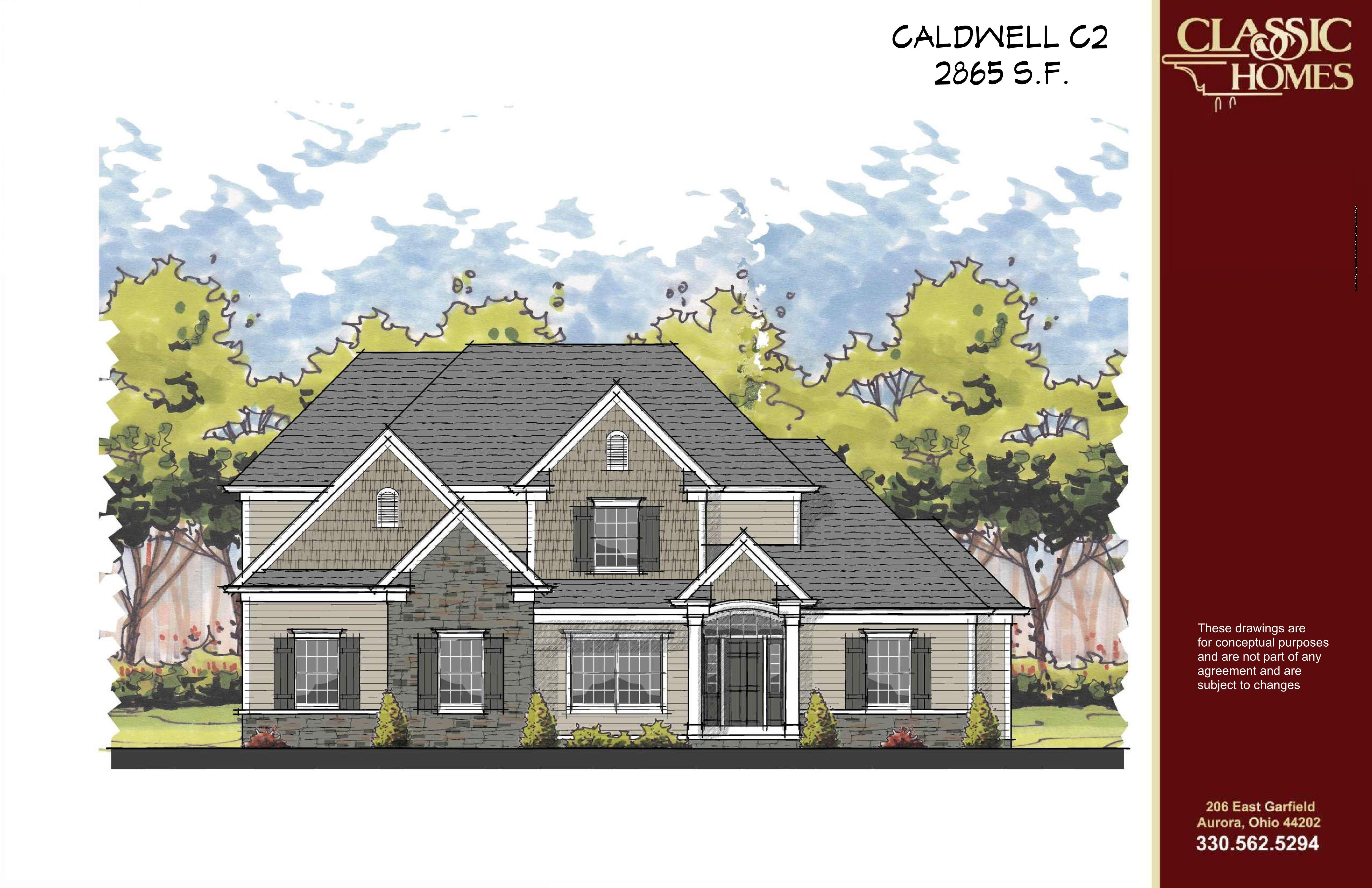 Exterior featured in the Caldwell C2 By Classic Homes in Akron, OH
