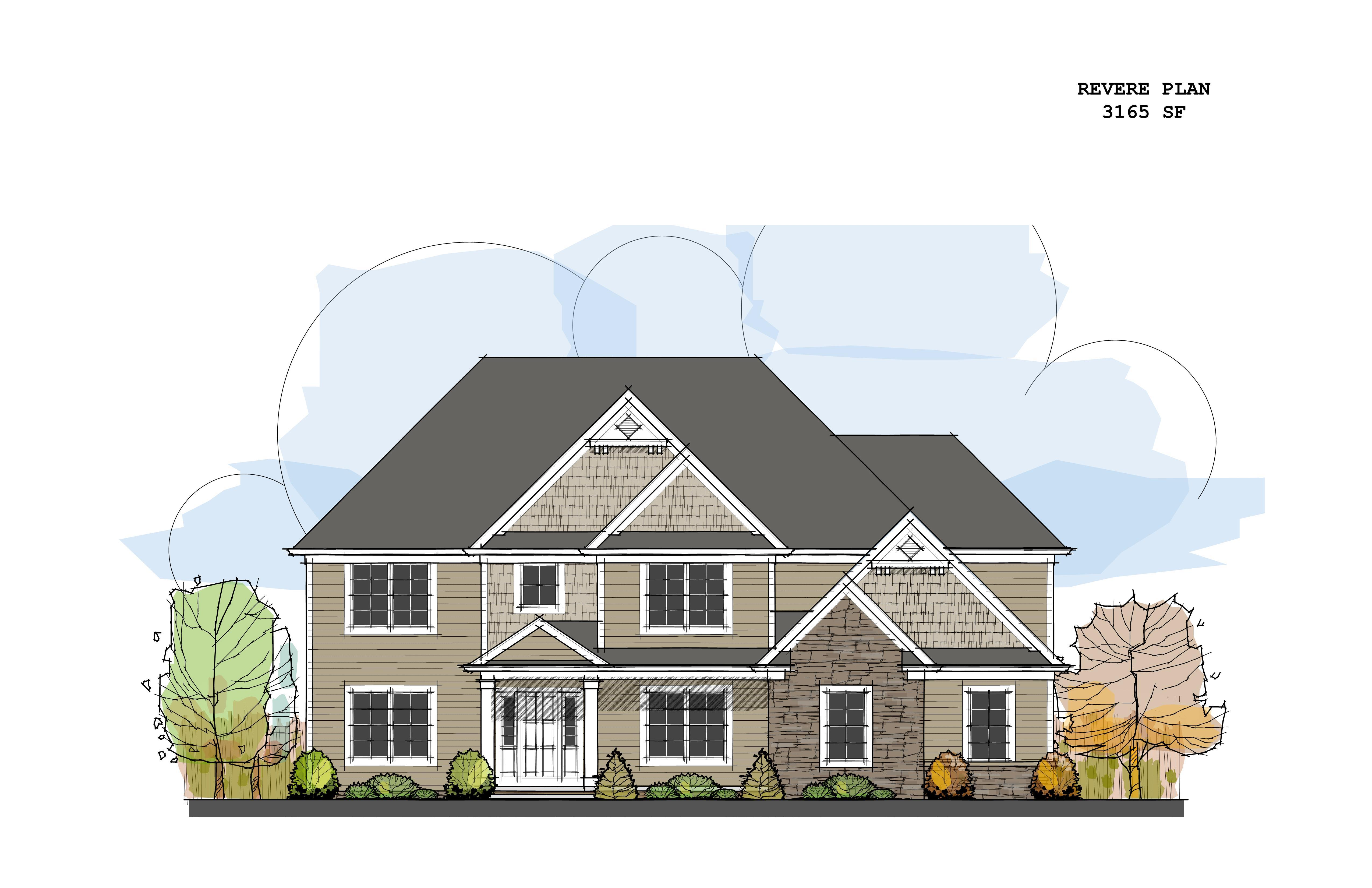 Exterior featured in the Revere C1 By Classic Homes in Akron, OH