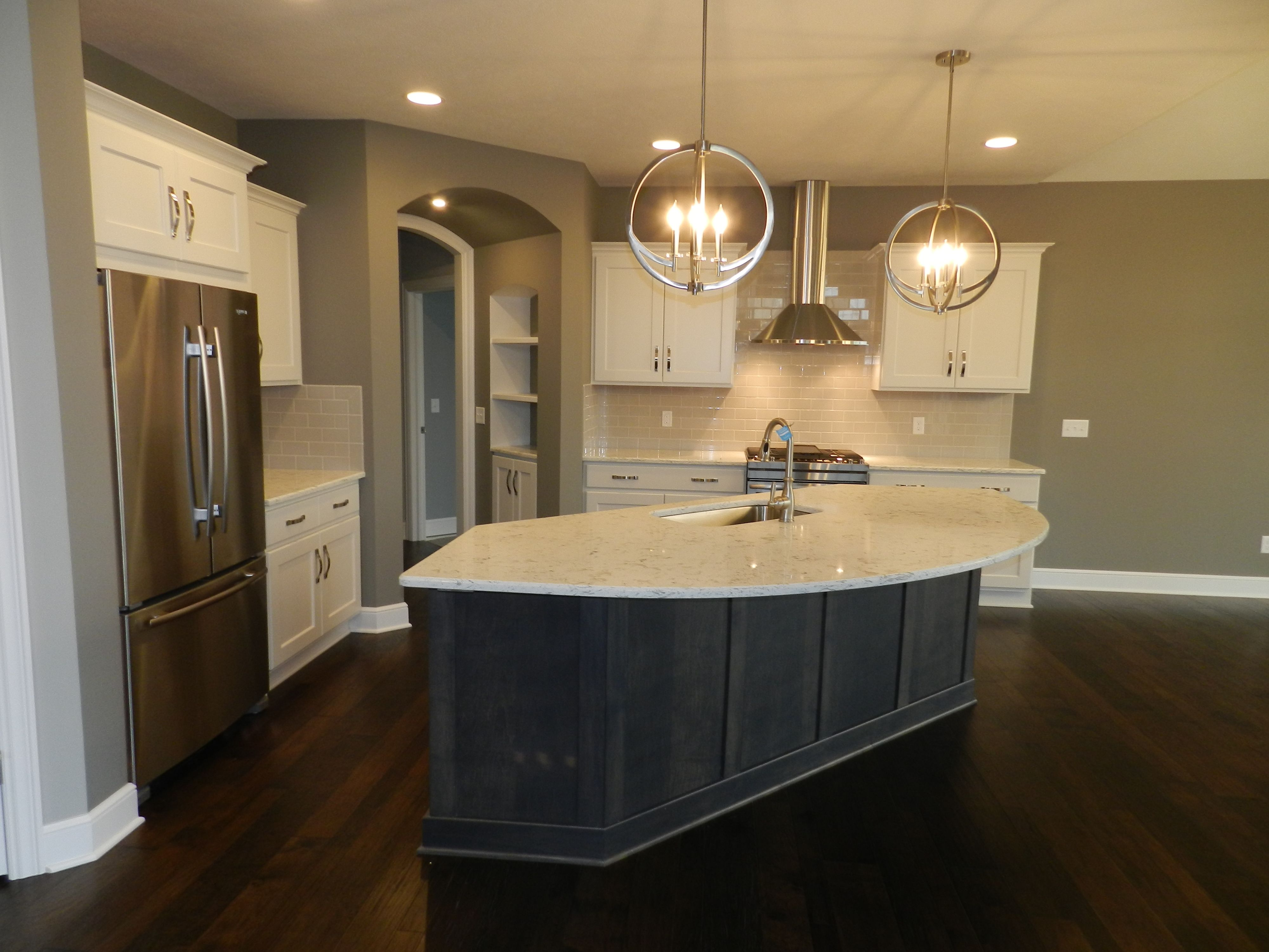 Kitchen featured in the Brighton C2 By Classic Homes in Akron, OH