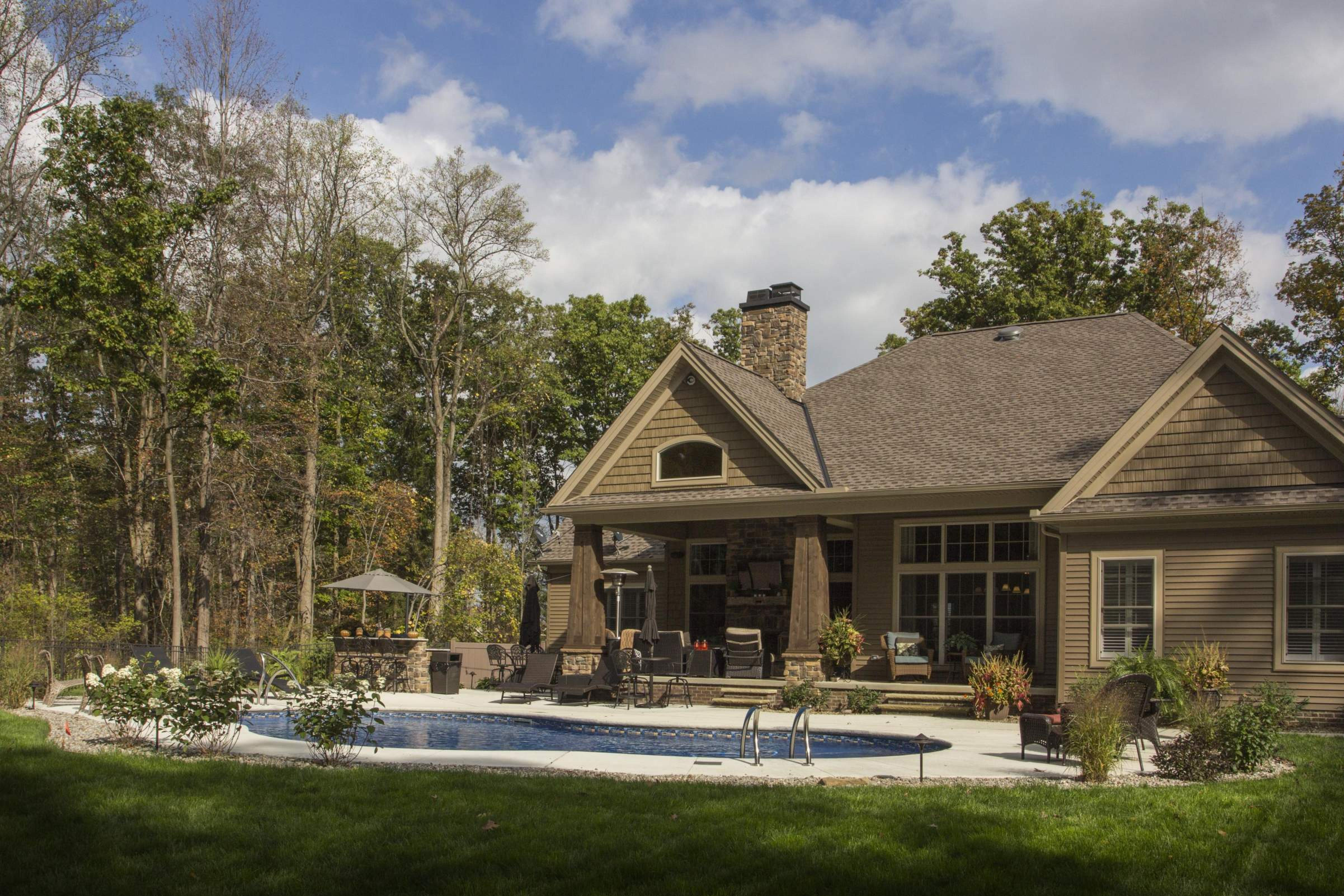 Exterior featured in the Cleveland C1 By Classic Homes in Akron, OH