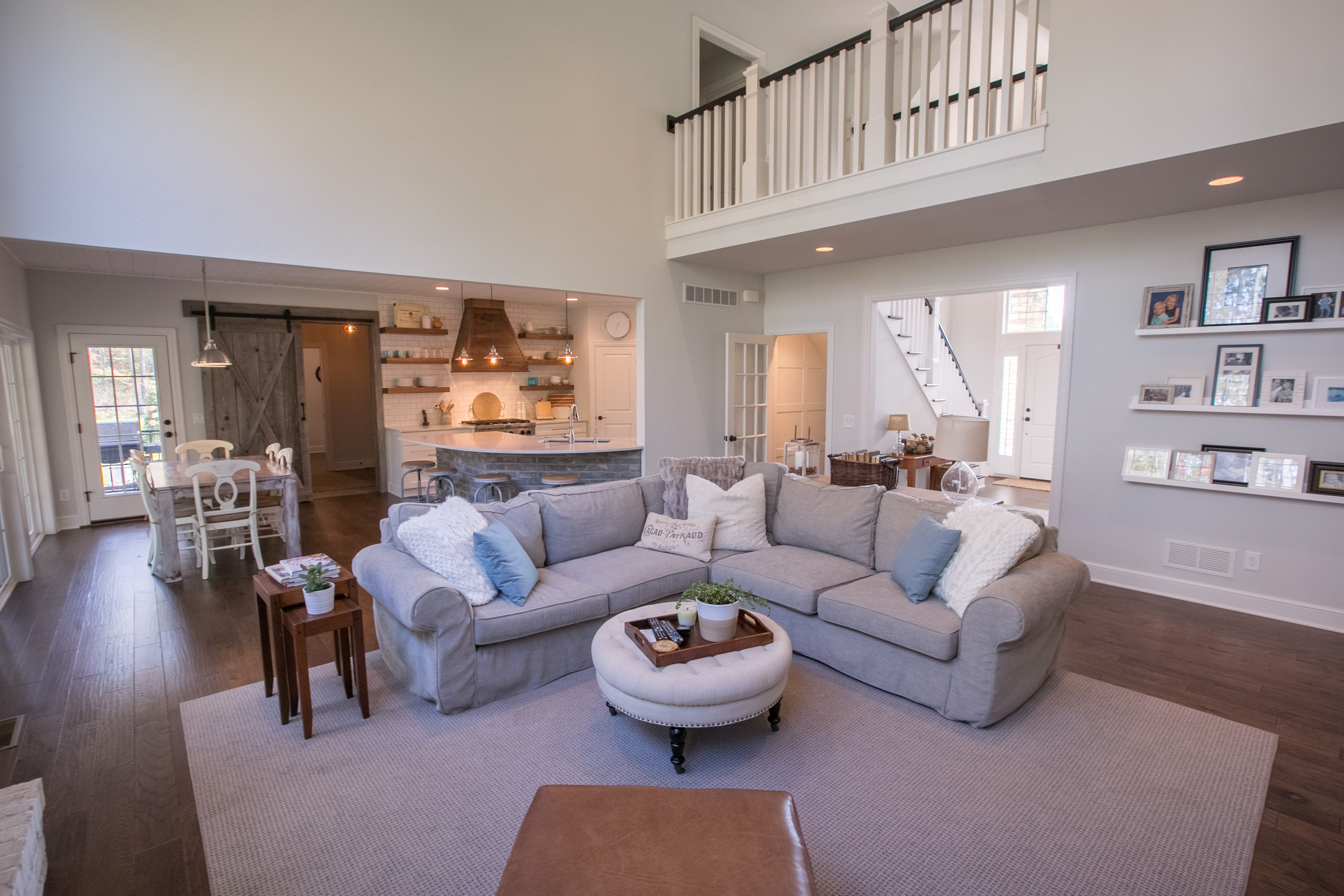 Living Area featured in the Aberdeen C1 By Classic Homes in Akron, OH
