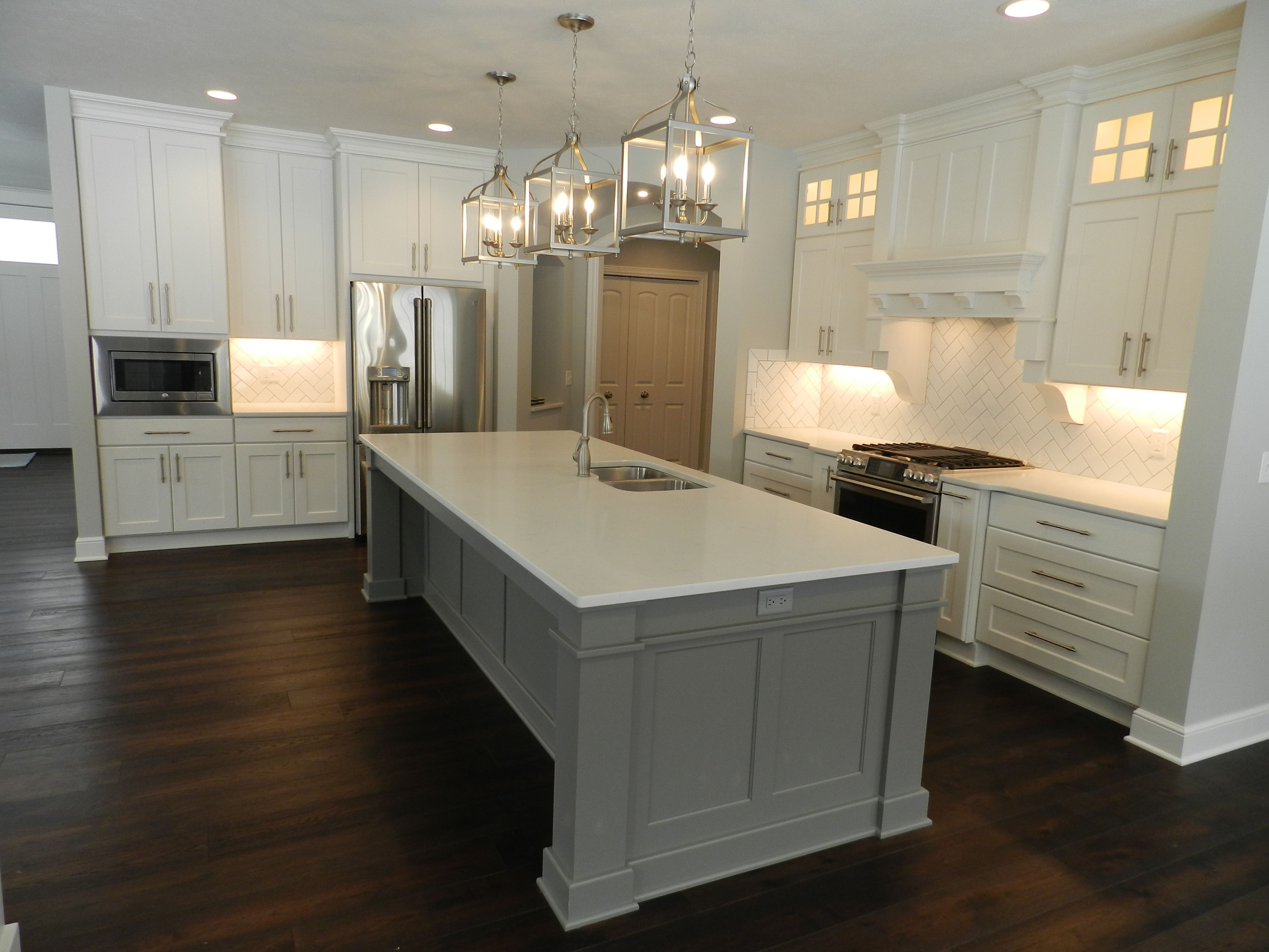 Kitchen featured in the Austin C2 By Classic Homes in Akron, OH