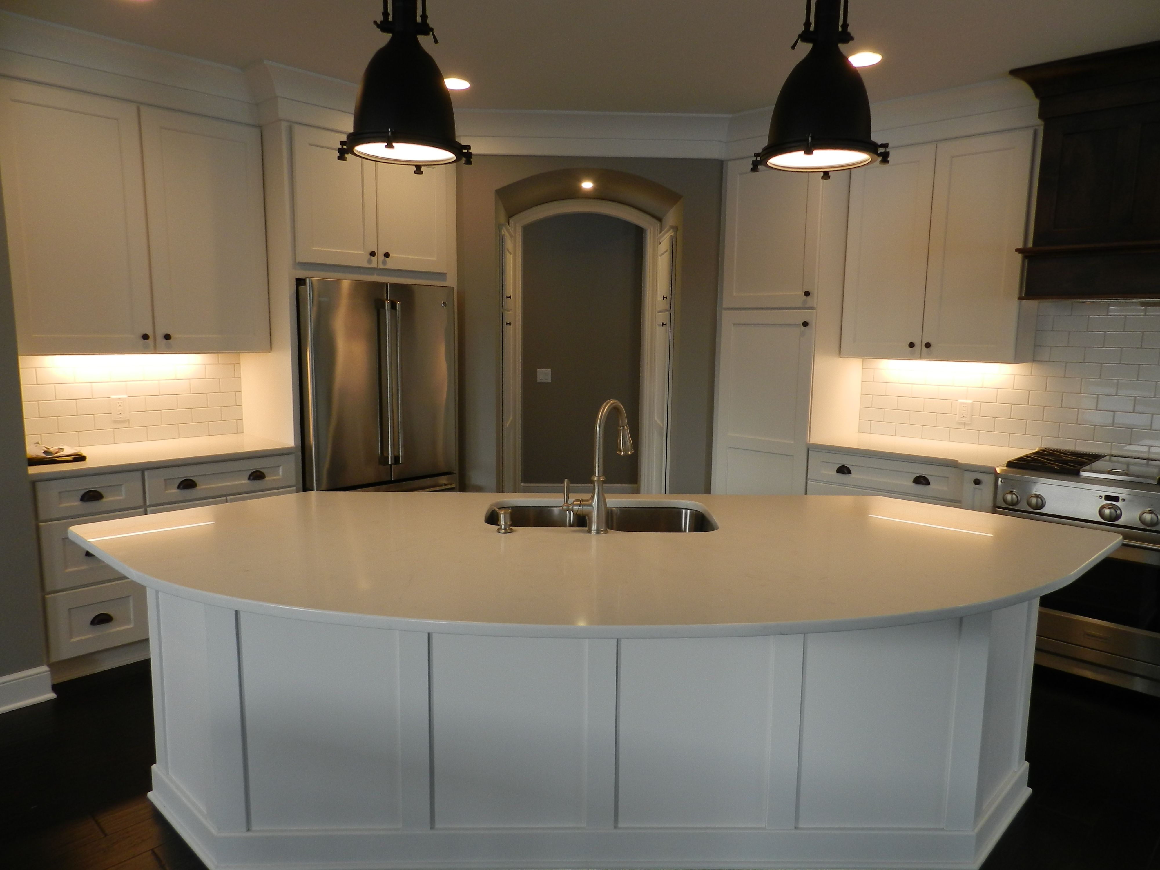 Kitchen featured in the Kimberly C1 By Classic Homes in Akron, OH
