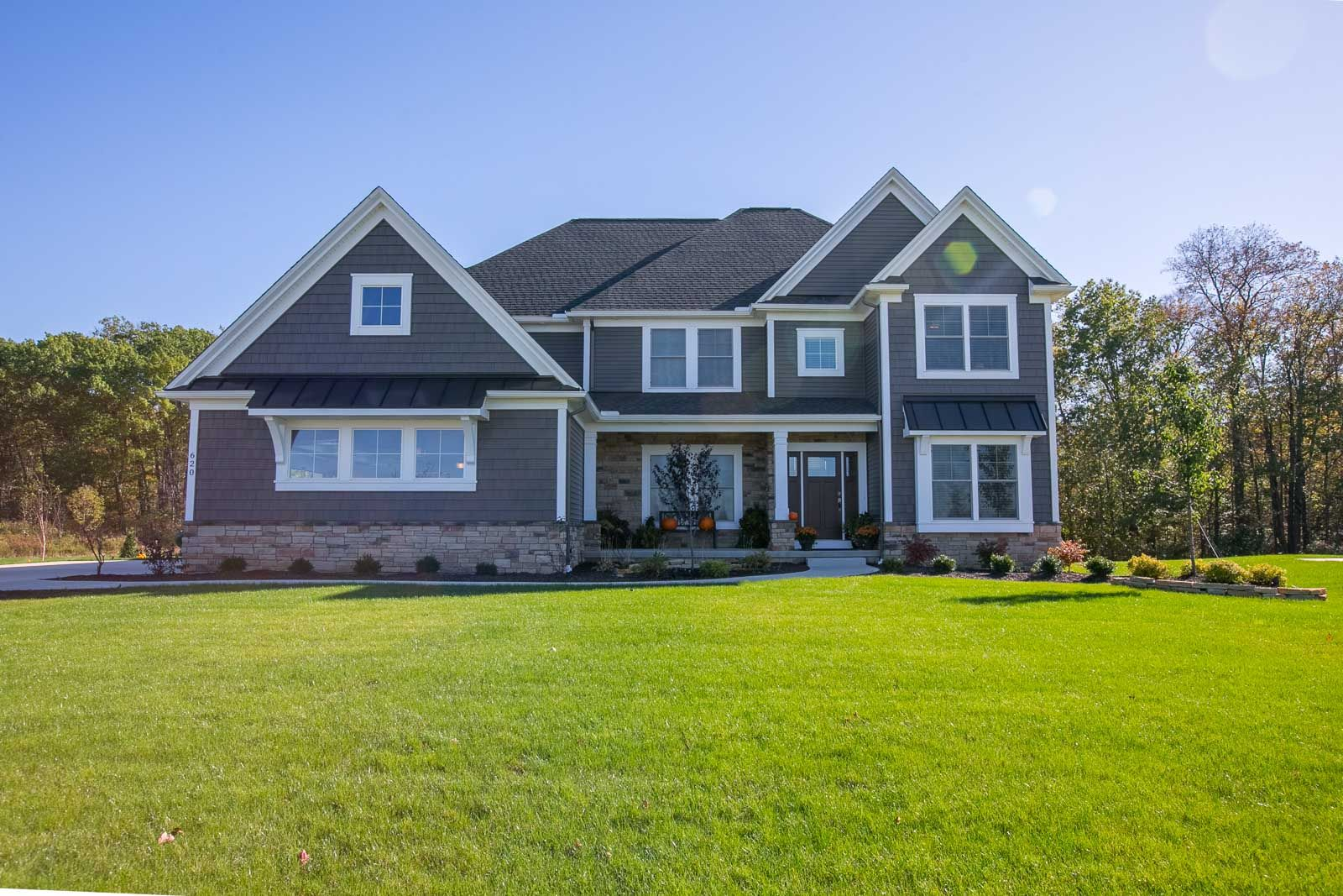 Exterior featured in the Maplewood C1 By Classic Homes in Akron, OH