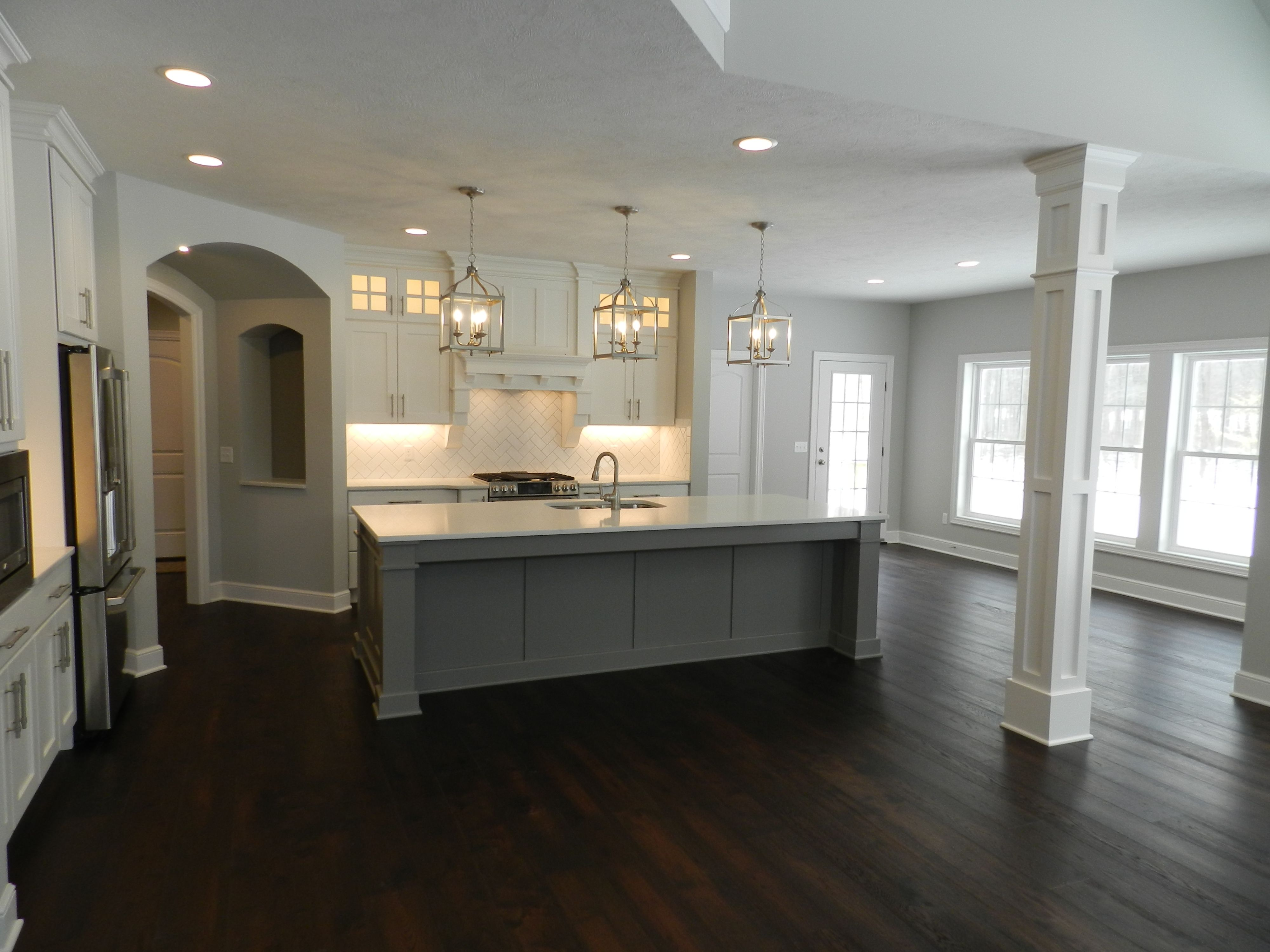 Kitchen featured in the Austin C1 By Classic Homes in Akron, OH