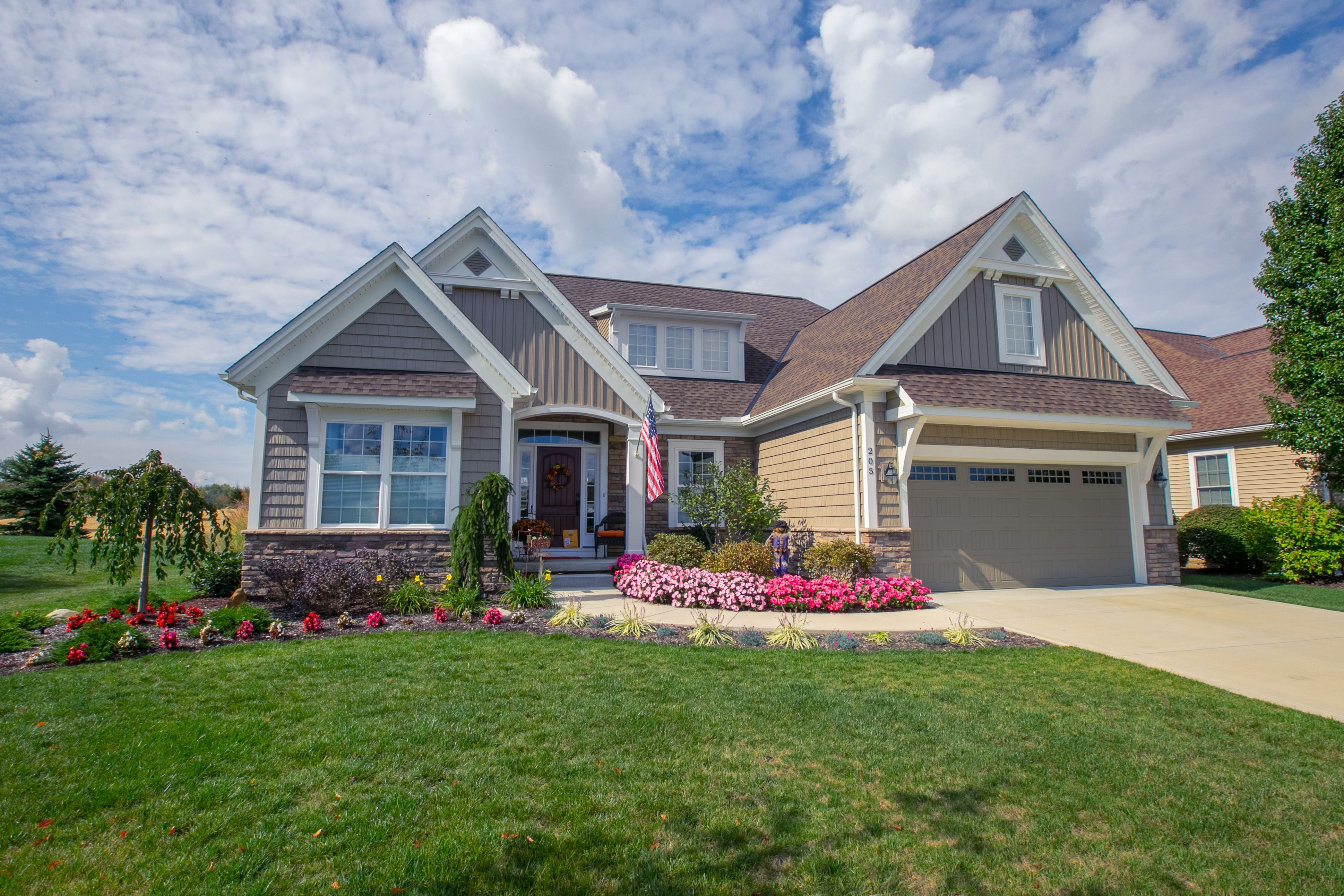 Exterior featured in the Brighton C1 By Classic Homes in Akron, OH