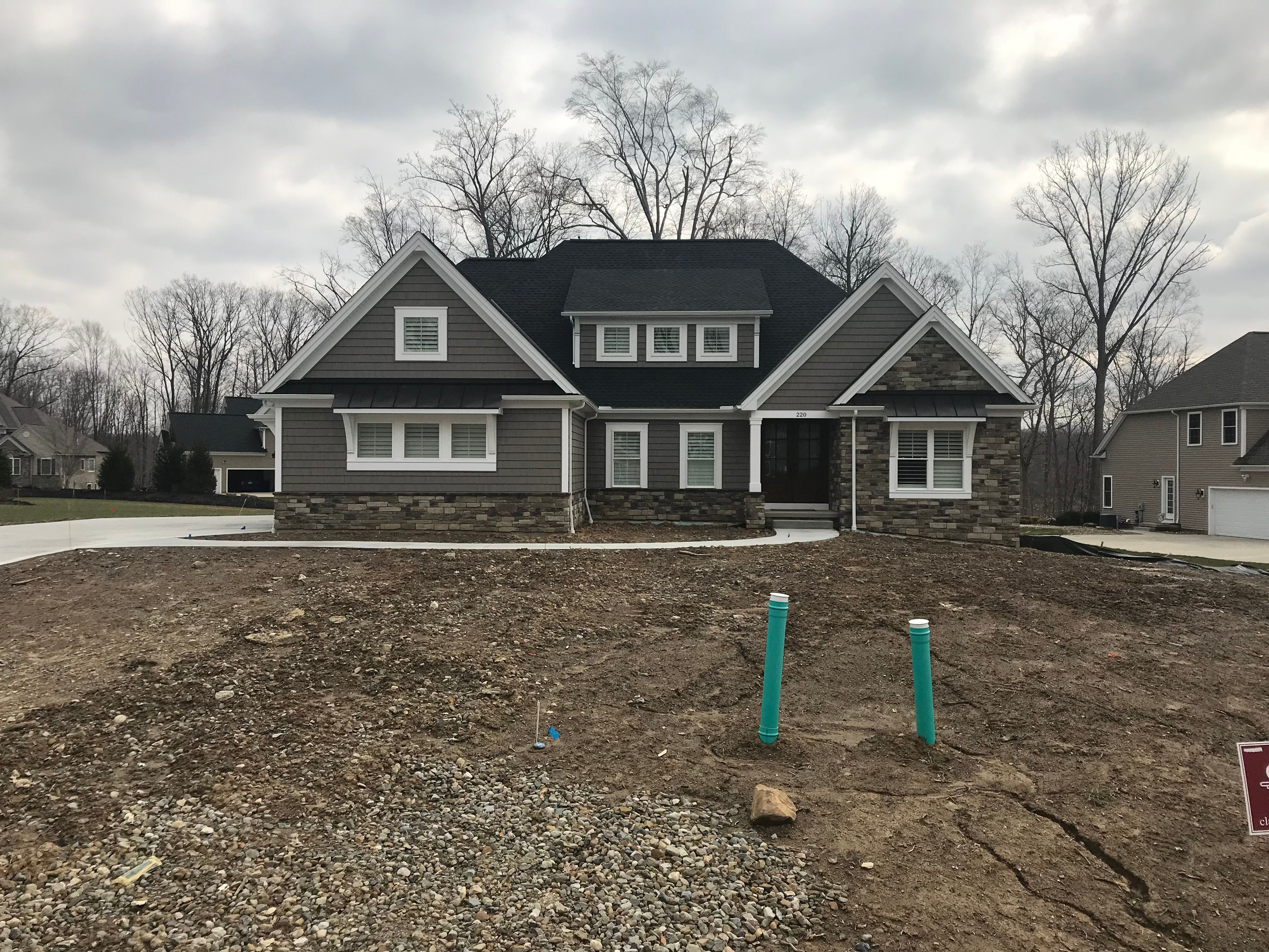 Exterior featured in the Kimberly C1 By Classic Homes in Akron, OH