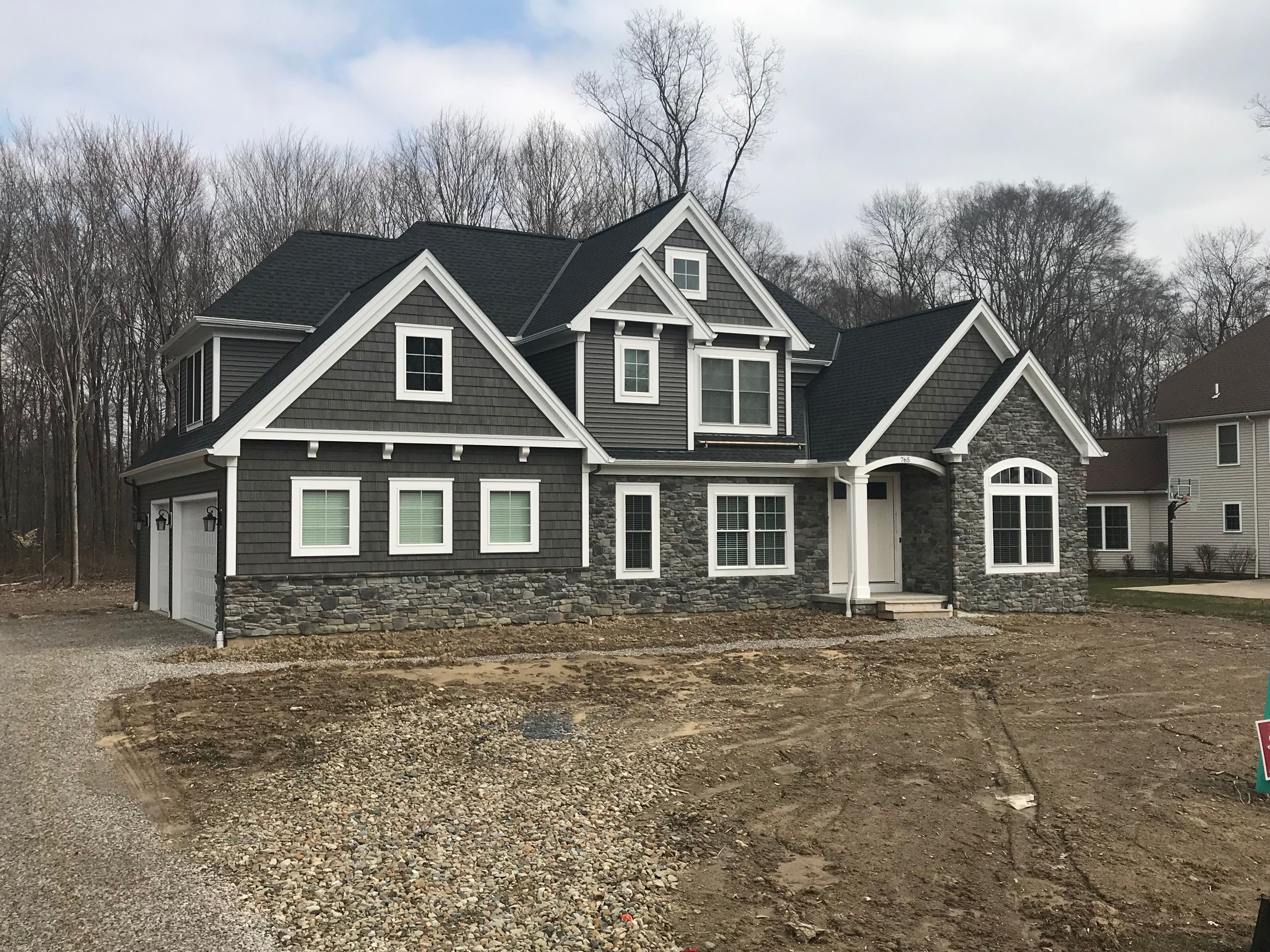 Exterior featured in the Austin C2 By Classic Homes in Akron, OH