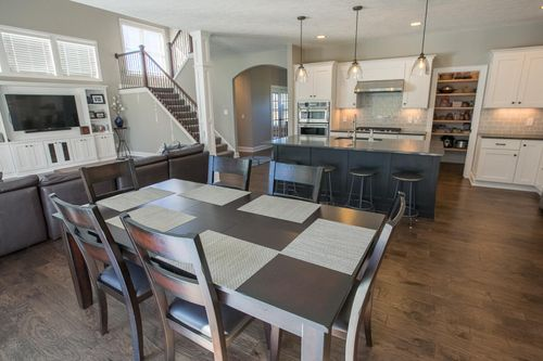 Kitchen-in-Maplewood C1-at-The Homestead-in-Aurora