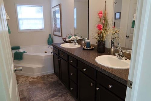 Bathroom-in-Grand Floridian / Floridian-at-Crossland Homes-Greenville-in-Greenville