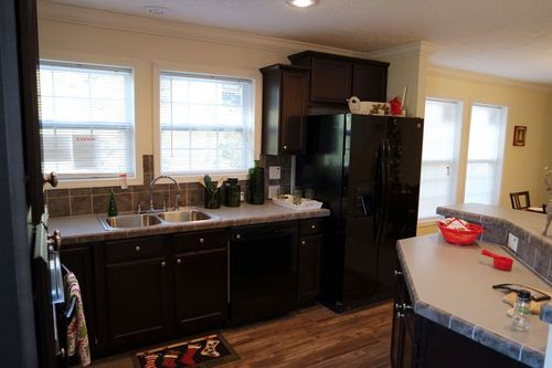 Kitchen-in-Christmas House-at-Crossland Homes-Greenville-in-Greenville