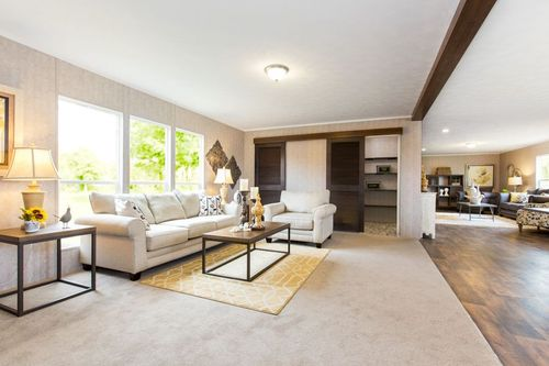 Greatroom-and-Dining-in-THE BREEZE II-at-Oakwood Homes-Fayetteville-in-Fayetteville