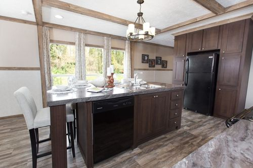 Kitchen-in-REVOLUTION 76A-at-Freedom Homes-Pearl-in-Pearl
