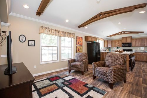 Greatroom-and-Dining-in-CHANTILLY-at-Oakwood Homes-Asheville-in-Asheville