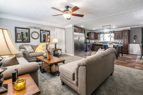 Greatroom-and-Dining-in-4710 ROCKETEER 7632-at-Clayton Homes-Lynchburg-in-Lynchburg