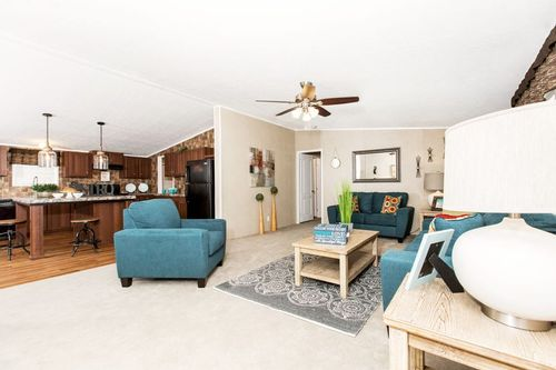 """Greatroom-and-Dining-in-NOW32764C """"FISHER KING""""-at-Oakwood Homes-Elizabeth City-in-Elizabeth City"""