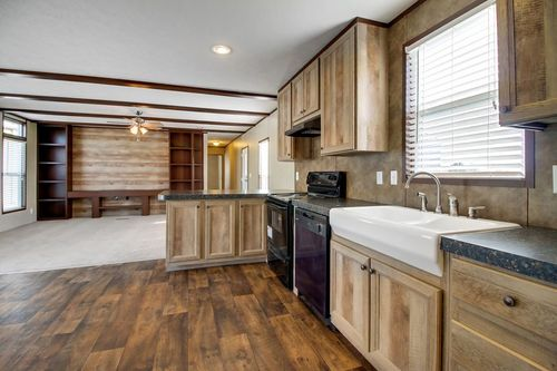 Kitchen-in-THE ANNIVERSARY 18-at-Clayton Homes-Fort Smith-in-Fort Smith