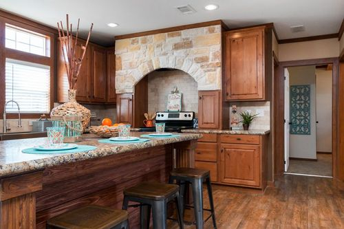 Kitchen-in-THE CABIN-at-Clayton Homes- Corsicana-in-Corsicana