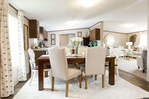 Dining-in-PRIDE-at-Oakwood Homes-Fletcher-in-Fletcher