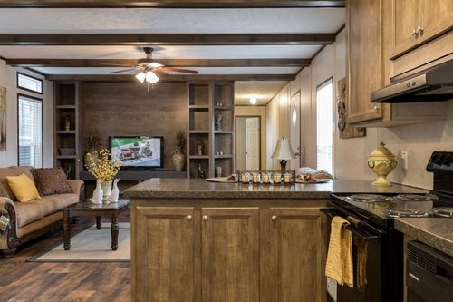 Kitchen-in-THE ANNIVERSARY ANN16763A-at-Clayton Homes-Springfield-in-Springfield