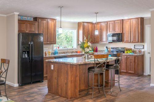 Kitchen-in-VIRGINIAN M610-at-Crossland Homes-Greenville-in-Greenville