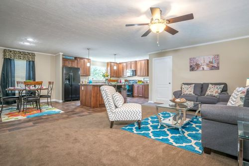 Greatroom-and-Dining-in-VIRGINIAN M610-at-Crossland Homes-Greenville-in-Greenville