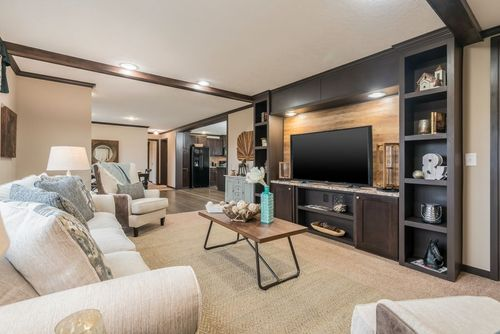 Greatroom-and-Dining-in-THE VIEW (2.0 SPECS)-at-Clayton Homes-Snowflake-in-Snowflake