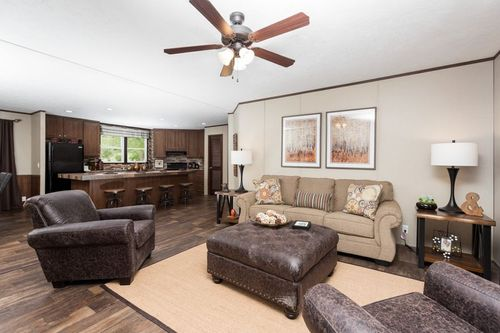Greatroom-and-Dining-in-THE BAYSIDE-at-Clayton Homes-Searcy-in-Searcy