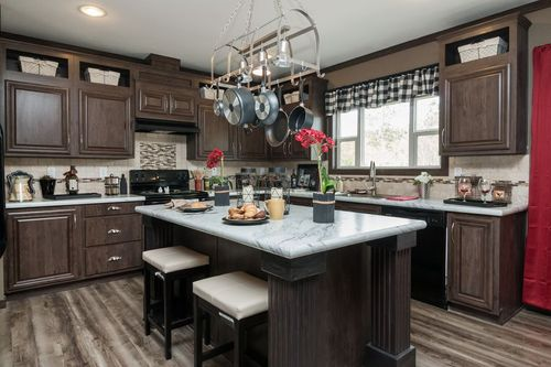 Kitchen-in-THE NASHVILLE-at-Freedom Homes-Sherman-in-Sherman