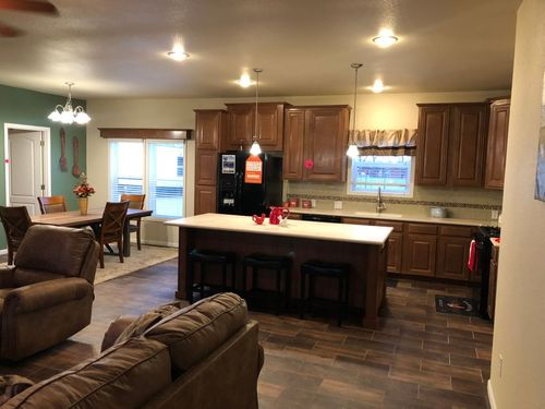 Kitchen-in-FALLBROOK-at-Oakwood Homes-Chino Valley-in-Chino Valley