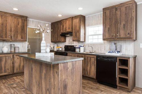 """Kitchen-in-NOW28603U """"NOW ULTRA""""-at-Oakwood Homes-Elizabeth City-in-Elizabeth City"""