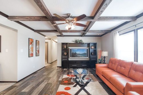 Greatroom-in-THE RED RIVER #2-at-Clayton Homes-Evans-in-Evans