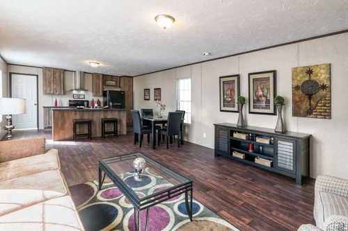Greatroom-and-Dining-in-THE BREEZE-at-Clayton Homes-Fort Smith-in-Fort Smith