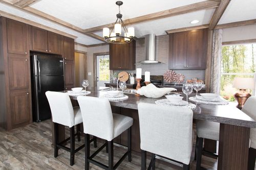 Kitchen-in-REVOLUTION 76A-at-Clayton Homes-Leesburg-in-Leesburg