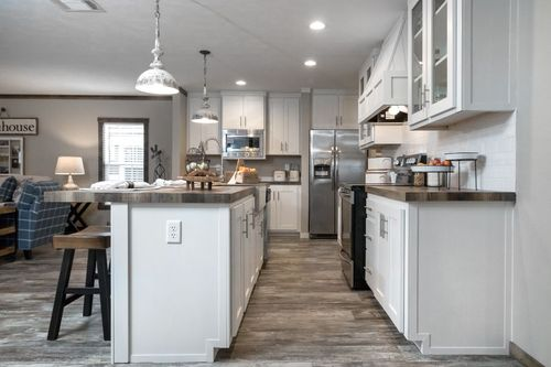 Kitchen-in-THE LITTLEFIELD-at-Clayton Homes-Fort Smith-in-Fort Smith