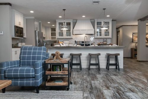 Greatroom-and-Dining-in-THE LITTLEFIELD-at-Clayton Homes-Fort Smith-in-Fort Smith