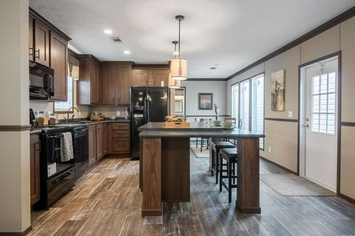 Kitchen-in-THE HARDING-at-Luv Homes-Gonzales-in-Gonzales