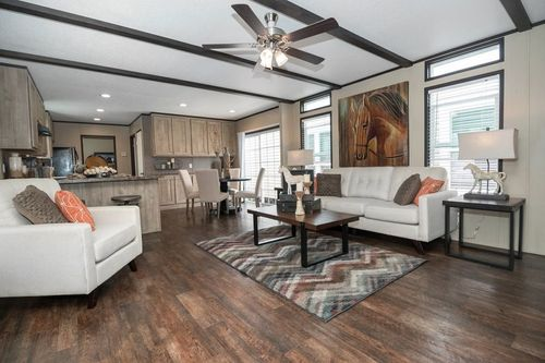 Greatroom-and-Dining-in-ANNIVERSARY 16682A-at-Clayton Homes-Tyler-in-Tyler