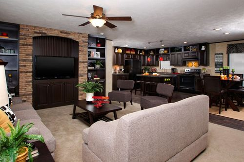 Greatroom-and-Dining-in-THE REAL DEAL-at-Freedom Homes-Fort Smith-in-Fort Smith